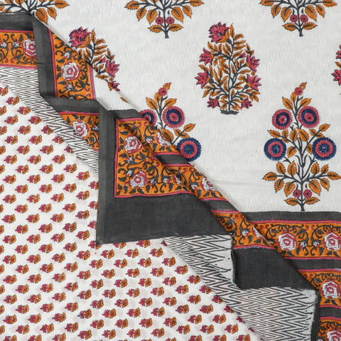 Sanganeri Block Prints Sarees of Rajasthan