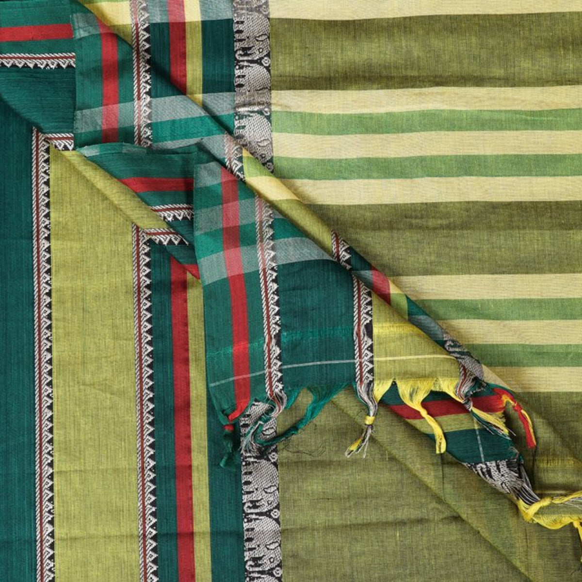 Traditional Narayanpet Mercerised Cotton Sarees