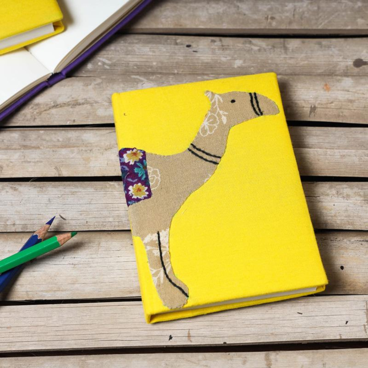 Applique Cover Notebooks