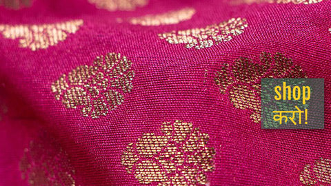 Exclusive ! Pure Banarasi Handwoven Fabrics - Kadhua Silks, Cottons, Georgette & Linen Blends