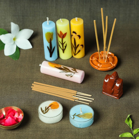 Aurobindo Ashram - Soaps, Gift sets, Candles, Incense Sticks & More !!