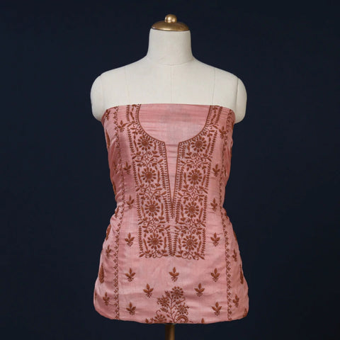Handwoven Tussar Silk Dress Materials