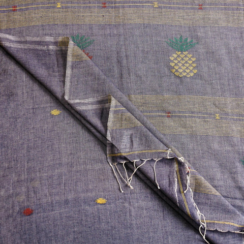 Jamdani Weave Silk & Cotton Sarees