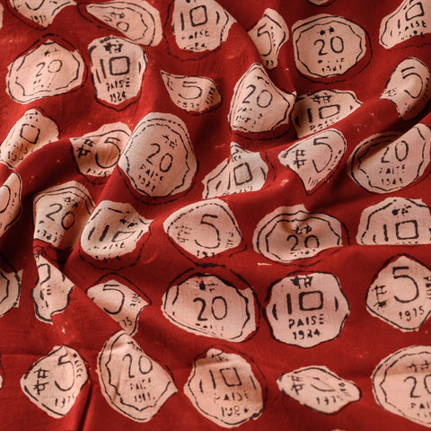 Natural Dyed Bindaas Hand Block Print Fabrics