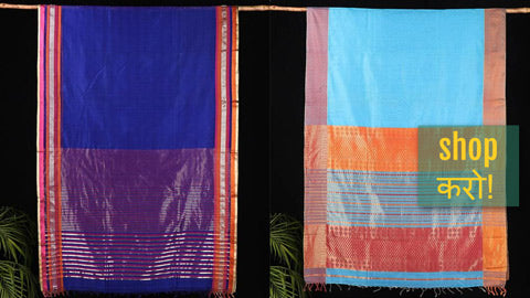 Exclusive ! Maheshwari Silk Pure Handloom Sarees by Gulrez Ansari