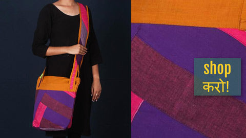 New Patchwork Cotton Bags by Jugaad