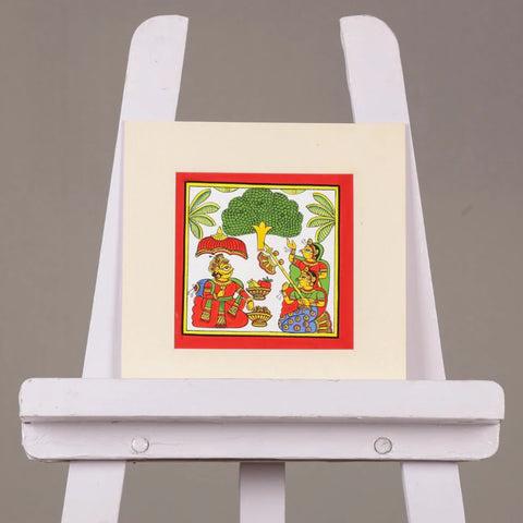 Folk Art Work Paintings of India