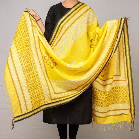 Pure Handloom Cotton & Silk Dupattas