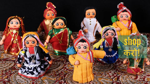 Traditional Bengal Handmade Dolls by SASHA