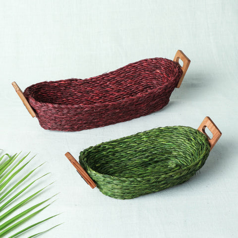 Handcrafted Bamboo & Sabai Grass Kitchen and Home Utility Products by Kadam Haat