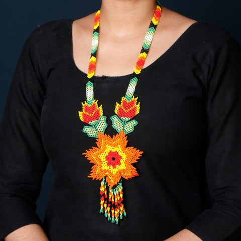 Hapur Beadwork Necklace Sets by Aagaz