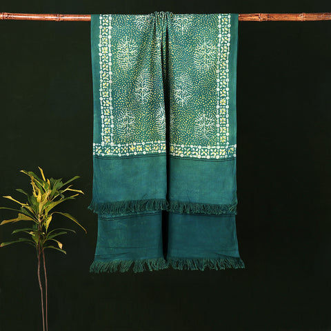 Akola Block Print Pure Handloom Cotton Towels