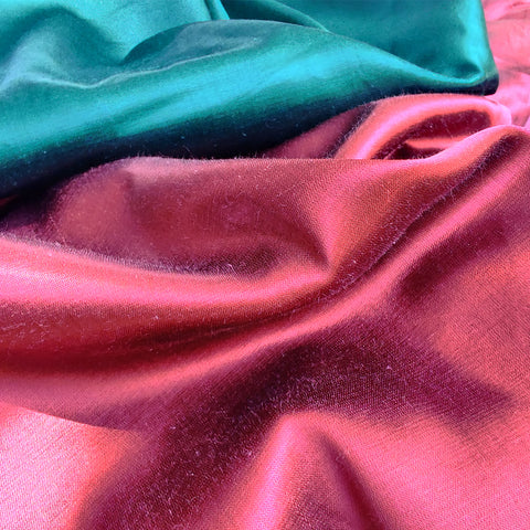 Pure Mashru Silk Plain Fabrics from Kutch