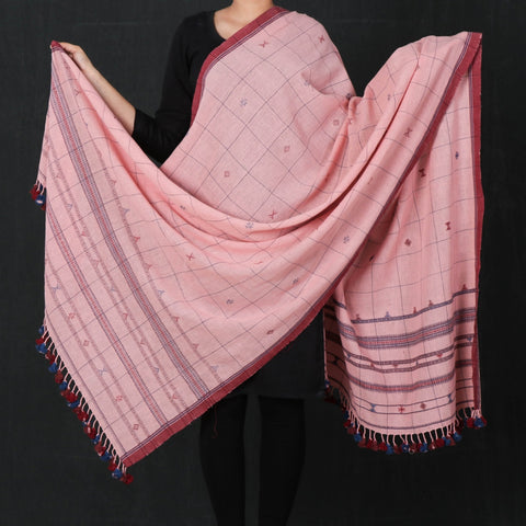 Kutch Weave Pure Handloom Kala Cotton Dupattas