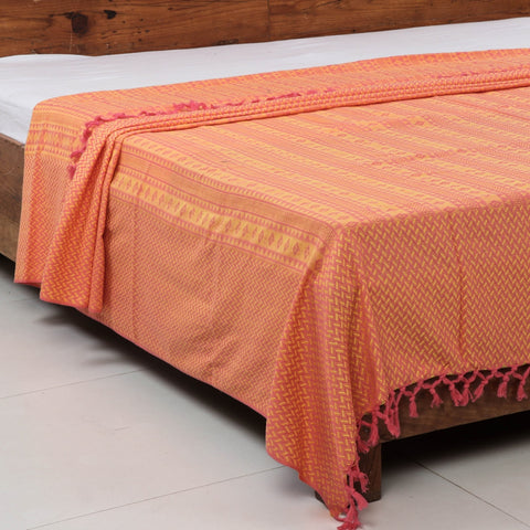 Pure Handloom Bedcovers & Khambadiya Kantha Work Quilts