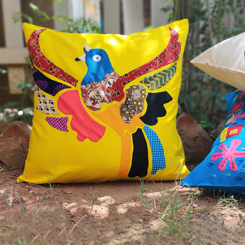 Orissa Pipli Applique Work Cotton Cushion Covers