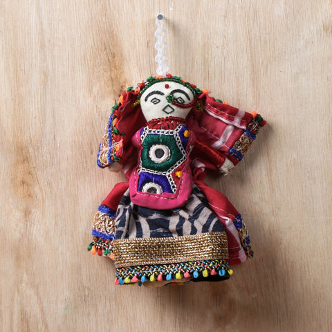 Handmade Traditional Kutchi Embroidery Dolls