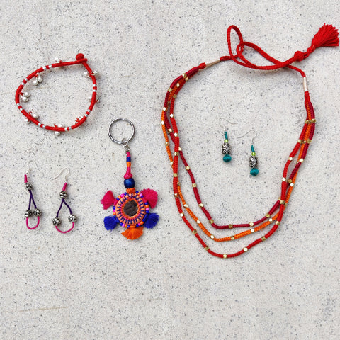 Patwa Thread & Bead Work Jewelry by Kailash Patwa