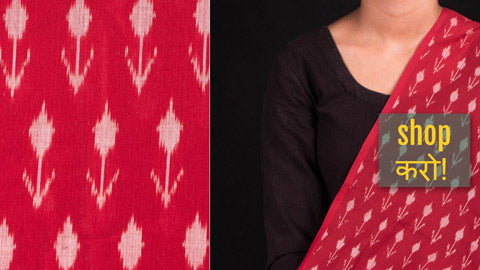 Ikats by Govardhan - Pochampally Pure Handwoven Cotton Fabrics