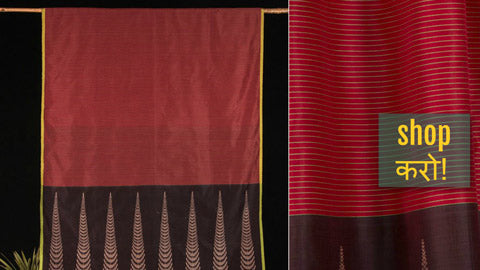 ✾ Jamdani Weave Handloom Cotton Sarees from Phulia Bengal by Ramanand Basak ✾
