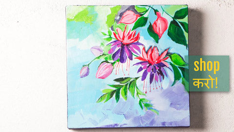 ❋ Original Acrylic Painting on Canvas by Richa's Pallete ❋