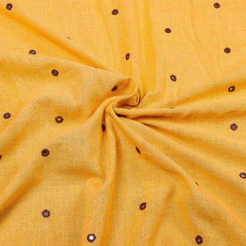 Organic Kala Cotton Handloom Natural Dyed Fabrics From Kutch