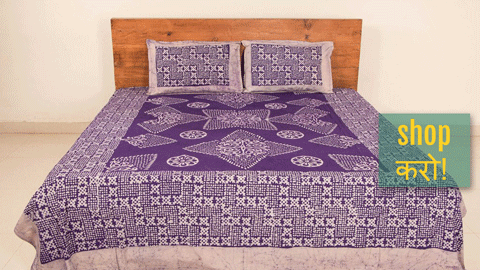❋ Batik Printed Cotton Double Bedcover Sets by Md.Shariff ❋