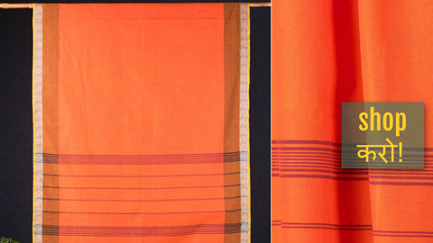 ✾ Chettinad Kandaangi Pure Cotton Sarees from Tamil Nadu ✾