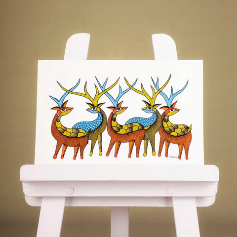 Gond Paintings of Madhya Pradesh