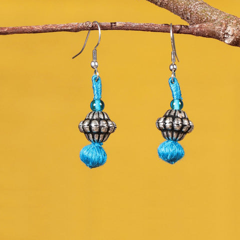 Patwa Thread Work Earrings by Kailash Patwa