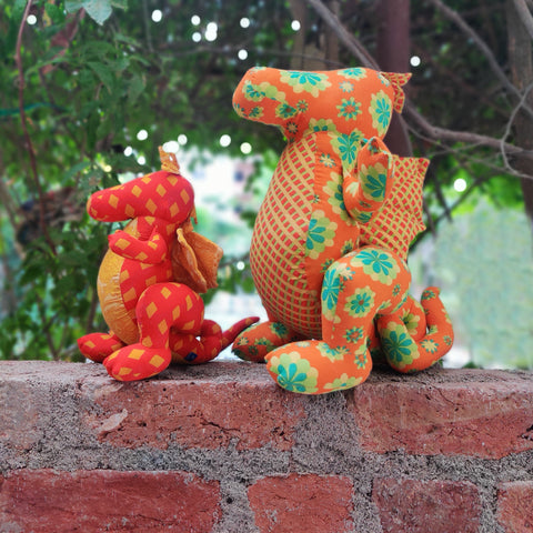 Blue Mango Cotton Stuffed Toys From Tamil Nadu