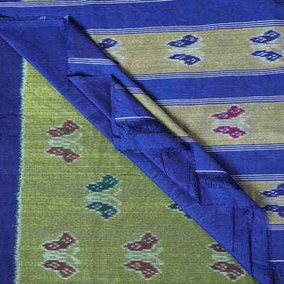 Pochampally Woven Ikat Handloom Pure Cotton Saree