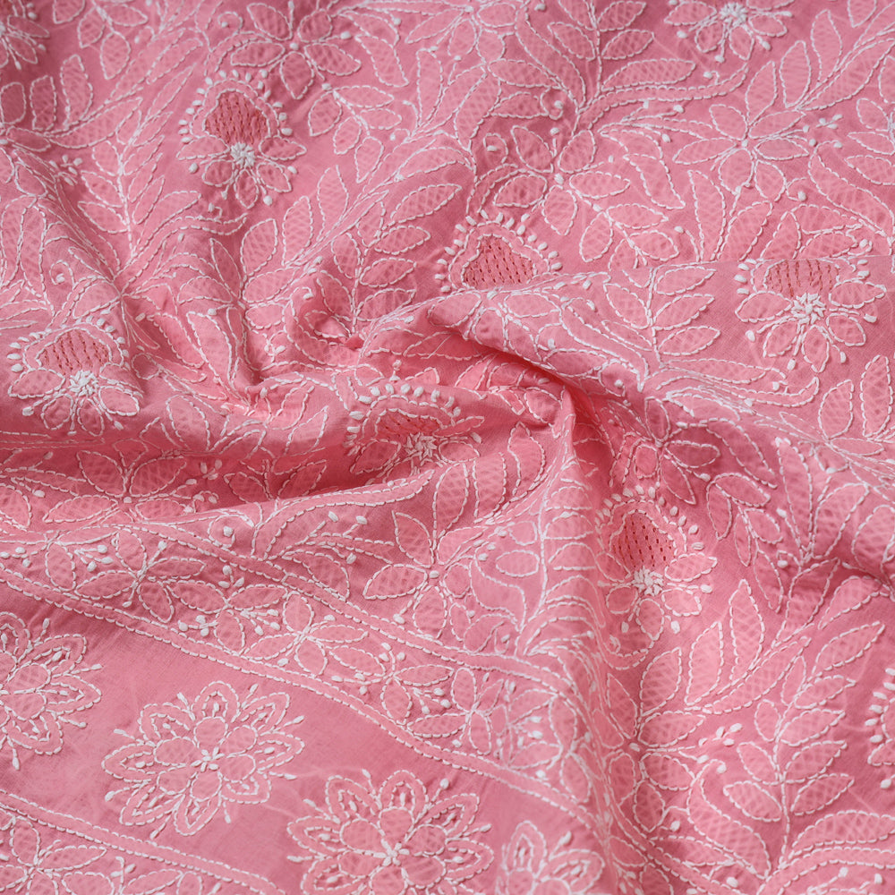 Reversible Kutch Tagai Embroidered Mashru Silk Double Bed Cover / Quilt (110 x 87 in)