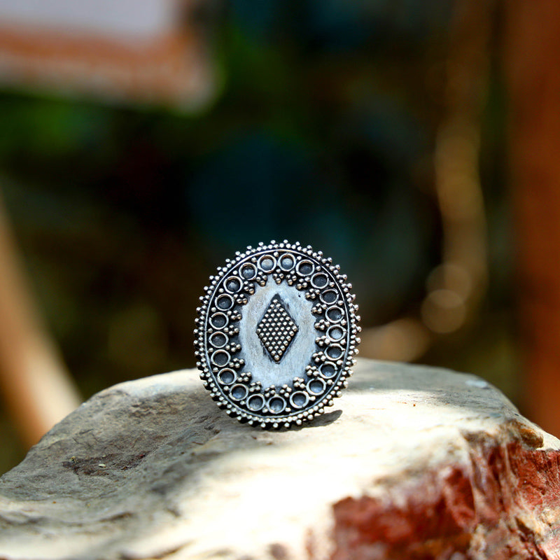 Sifar Sterling Silver Ring