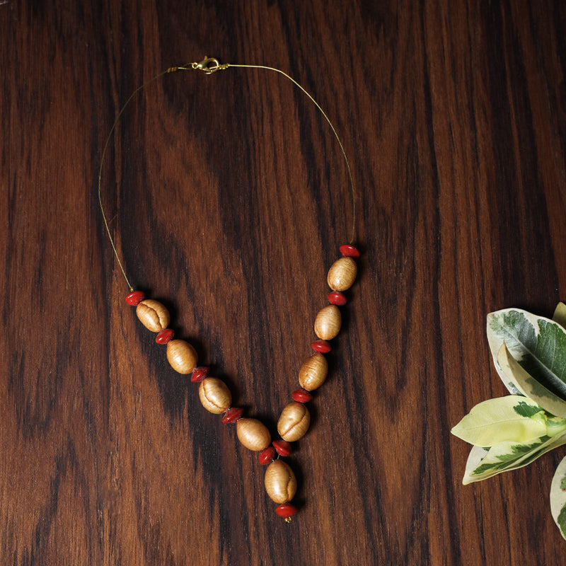 Handmade Natural Seeds Necklace