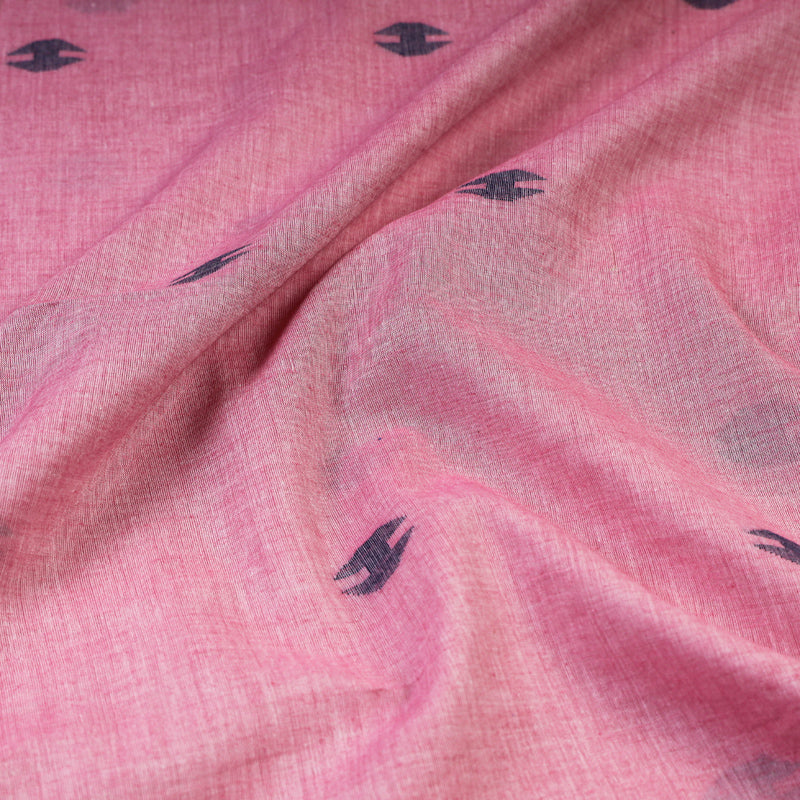Bengal Pure Handloom Jamdani Buti Cotton Fabric
