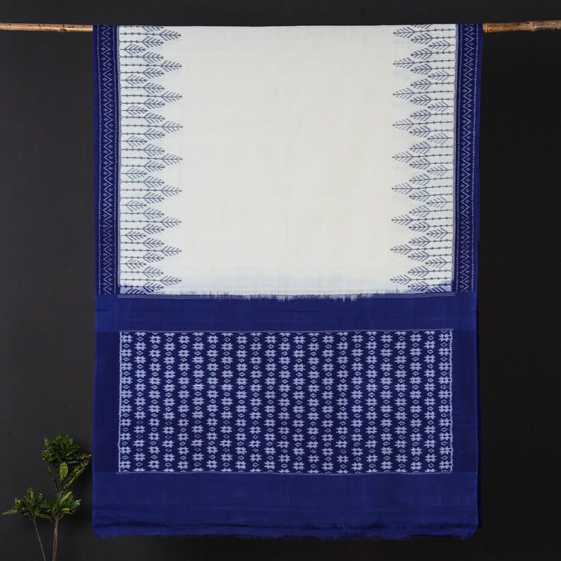 Traditional Pochampally Woven Ikat Handloom Pure Cotton Saree