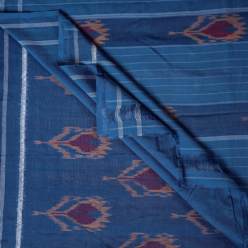 Traditional Pochampally Woven Double Ikat Handloom Pure Cotton Saree