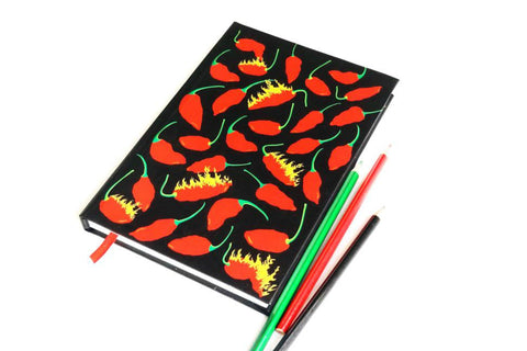 The Naga Bhut Jolokia Notebook (Big)