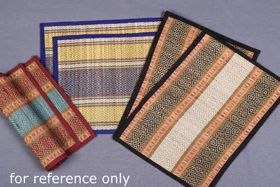 Madur Grass Table Mats of Midnapur (Set of 6)