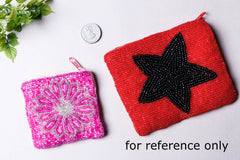 Rampur Beadwork Big Coin Pouch