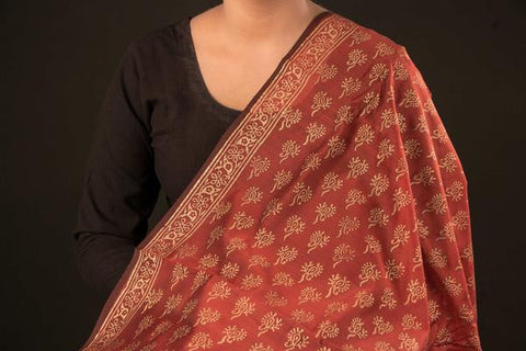 Chanderi Precut Fabric - 1.0 Meter