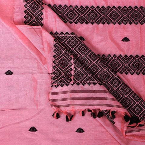 Special Handloom Pure Mulberry Cotton Assamese Saree