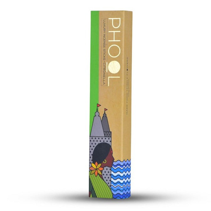 Citronella - Handmade Temple Flower Natural Incense Sticks by PHOOL
