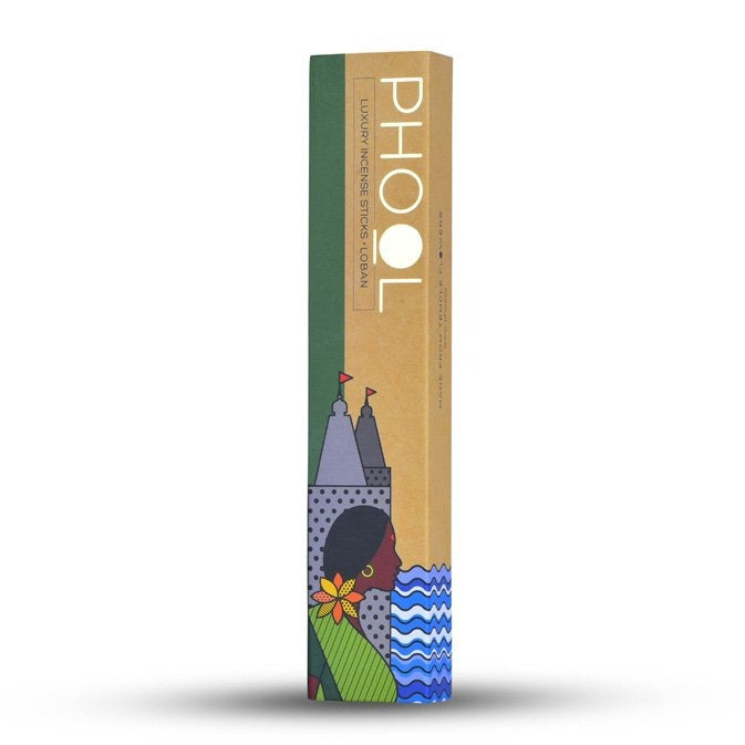 Loban - Handmade Temple Flower Natural Incense Sticks by PHOOL