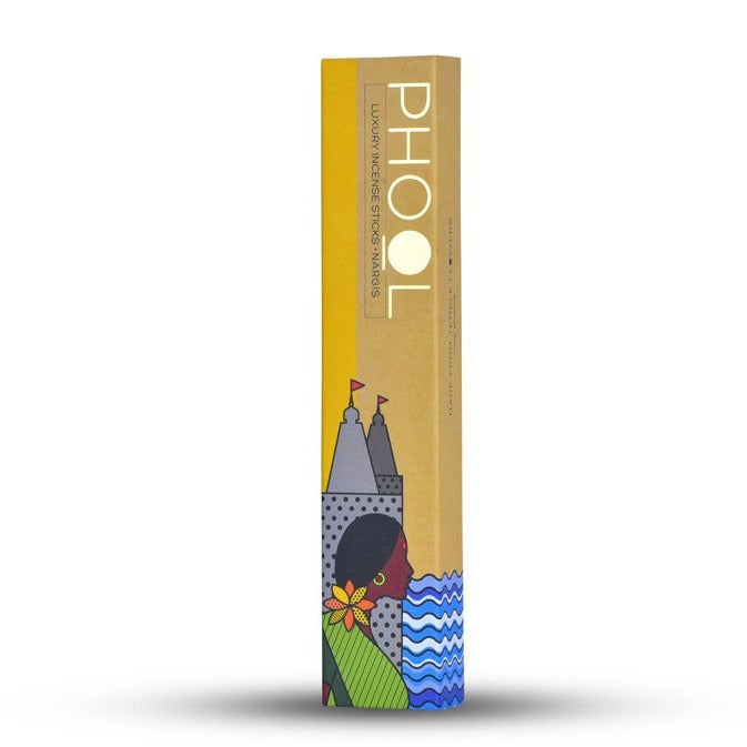 Nargis - Handmade Temple Flower Natural Incense Sticks by PHOOL