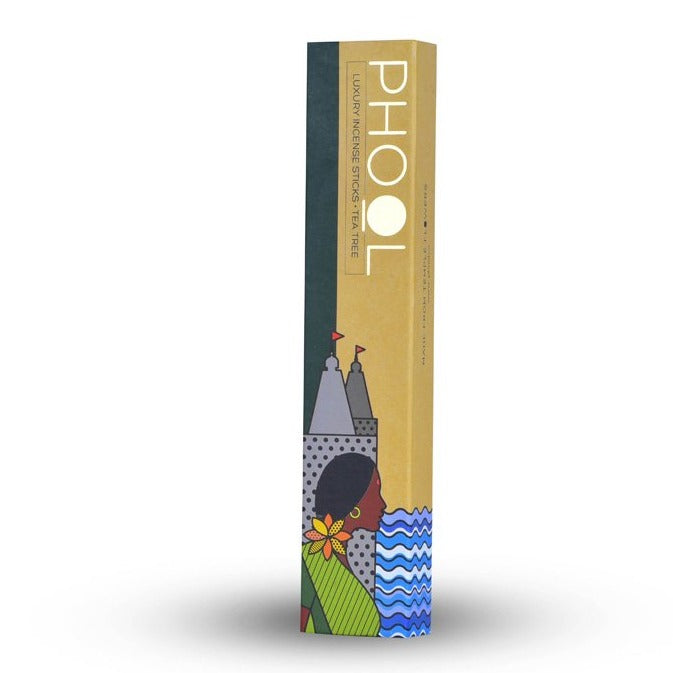 Tea Tree - Handmade Temple Flower Natural Incense Sticks by PHOOL