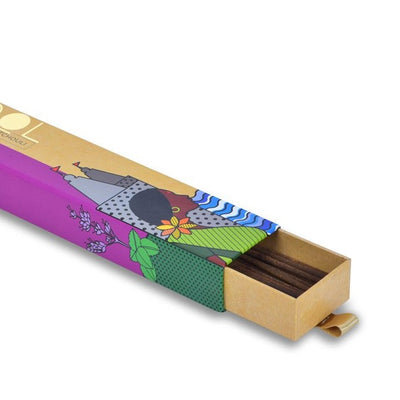 Patchouli - Handmade Temple Flower Natural Incense Sticks by PHOOL