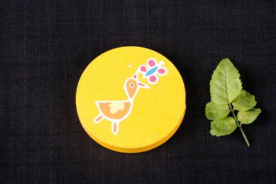 Miniature Handpainted Pine Wood Fridge Magnet