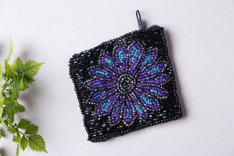 Rampur Beadwork Small Coin Pouch